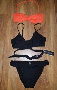 3pc Bikini Set Victoria Secret & Zeraca size Small